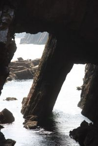 The twin arches of Umphin, Co.Donegal.